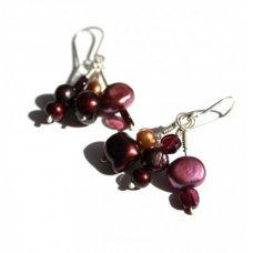 La Jewellery Recycled Silver Dusk Earrings
