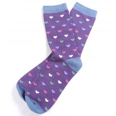 Braintree Bamboo Heart Socks