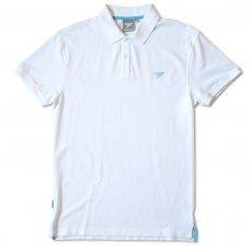 Silverstick Men's Columbus Organic Cotton Polo Shirt - White