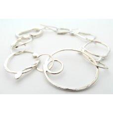 La Jewellery Recycled Bohemian Silver Bracelet