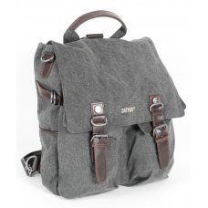 Hemp Rucksack Shoulder Bag  - Grey