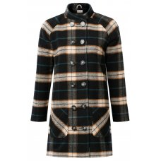 Komodo Lillami Check Wool Coat