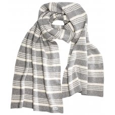 Komodo Large Gracello Striped Wool Scarf