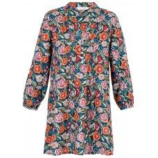 Tapestry Long Sleeve Shirt-Marmalade