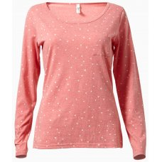 People Tree Stars Long Sleeve Top