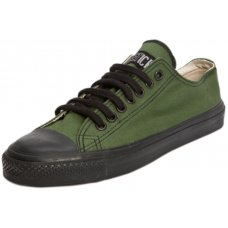 Ethletic Fairtrade Trainers - Green & Black