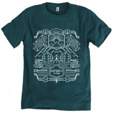 Rapanui Organic Cotton Men's The Nordic T-shirt