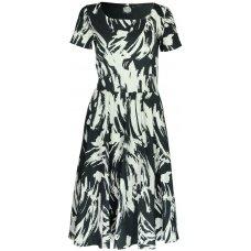 Nancy Dee Juniper Paint Print Dress