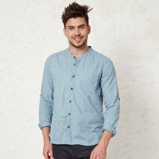Braintree Essential Blue Grandpa Shirt