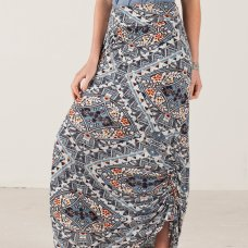 Nomads Jersey Printed Maxi Skirt