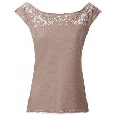 Komodo Embroidered Adele T-Shirt