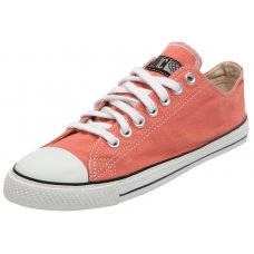 Ethletic Fairtrade Trainers - Coral
