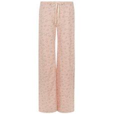 People Tree Cloud Print Pyjama Trousers - Pink