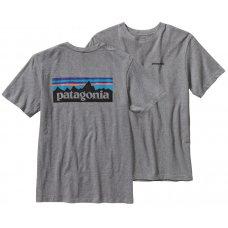 Patagonia Logo T-Shirt - Gravel