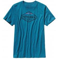 Patagonia Fitz Roy Crest T-Shirt - Blue