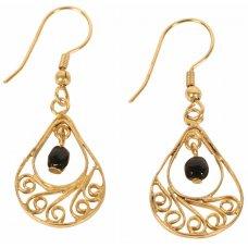 Teardrop Bead Earrings