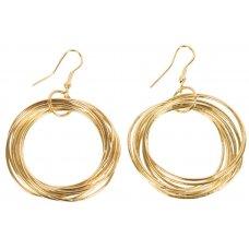 Gold Multi-Hoop Earrings
