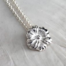 Mosami Pansy 'Thinking Of You' Pendant Necklace