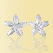 Mosami Garlic Flower 'Health' Stud Earrings