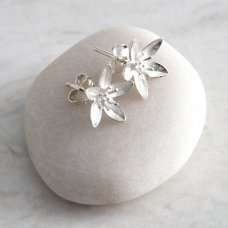 Mosami Garlic Flower 'Health' Stud Earrings