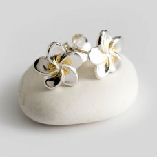Mosami Frangipani 'Loyalty' Stud Earrings