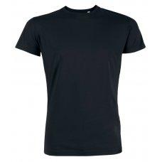 Mens Organic Cotton Round Neck Short Sleeve T-Shirt