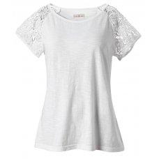 Organic Crochet Lace Shirt