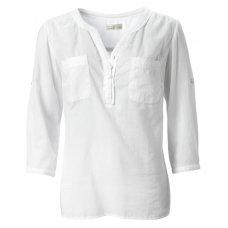 Organic 3/4 Sleeve Pocket Blouse