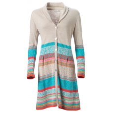 Patterned Coat Cardigan