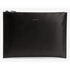 Matt & Nat Vegan Lexis Folder/Clutch Bag - Black