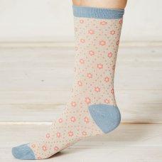 Braintree Diamond Daisy Bamboo Socks