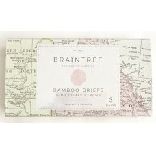Braintree Mens Bamboo Boxer Briefs Gift Box
