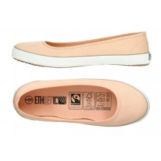 Ethletic Fairtrade Dancer Shoes - Nude