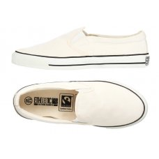 Ethletic Fairtrade Deck Shoes - Off White