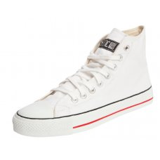 Ethletic Fairtrade Hi Top Trainers - White