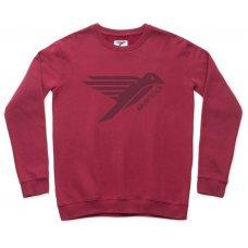 Silverstick Mens Arugan Logo Sweatshirt - Beaujolais