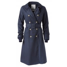 Braintree Renee Trench Coat - Navy