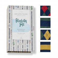 Braintree Mens Fergus Bamboo Sock Gift Box