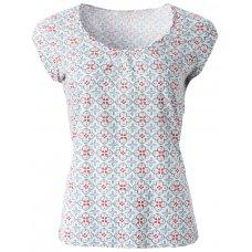 Nomads Organic Cotton Sleeveless Pyjama Top - Tile Print