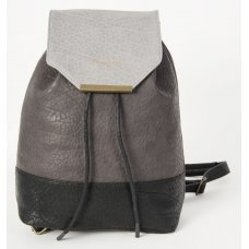 Skunkfunk Raim Vegan Leather Backpack - Grey