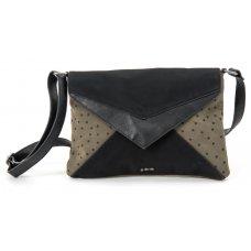 Skunkfunk Cugula Vegan Leather Envelope Bag - Military Green