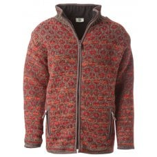 Women's Burghley Full Zip Jacket - Red
