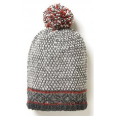 Men's Tromso Baggy Beanie Hat - Graphite