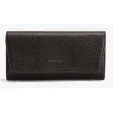 Matt & Nat Vegan Vera Wallet Purse - Black