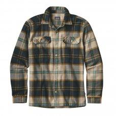 Patagonia Mens Fjord Flannel Shirt - Khaki