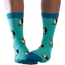 Doris & Dude Penguins Bamboo Socks