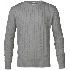 Knowledge Cotton Organic Cable Knit Jumper