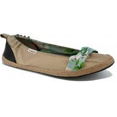 Komodo Bow Tie Ballet Pumps - Sand