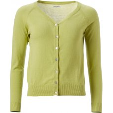 Nomads Short Cardigan - Lime