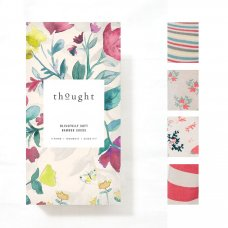 Thought Voyage Bamboo Sock Gift Box